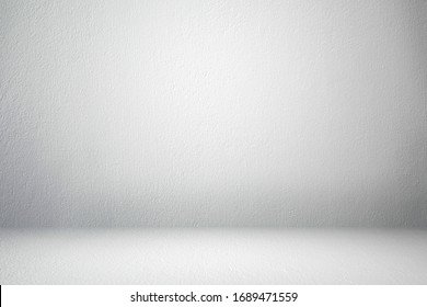 Abstract empty white cement concrete material wall texture background