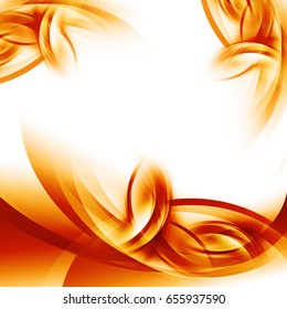 Abstract energy waves for summer background, brochures and flyers