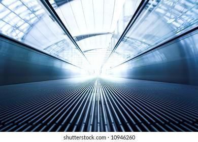 Abstract Escalator