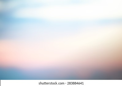 Abstract evening sunset sky background