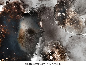 abstract Explosion and vintage rust texture graphic backround texture