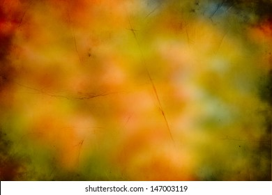 Abstract fall background