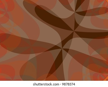 An abstract fall background fractal.