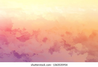 abstract fantacy clouds background