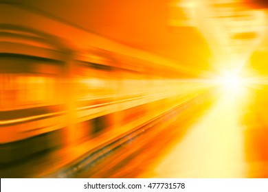 Abstract fast zoom speed motion background for Design.