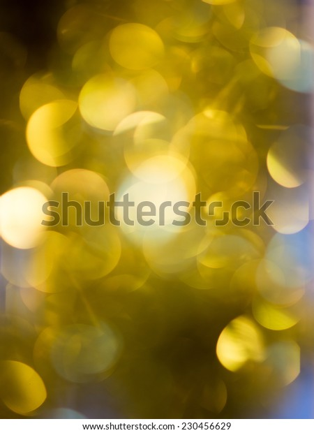 Abstract Festive background. Christmas and New Year feast bokeh background with copyspace. Holiday party background with blurry boke special magic effect.