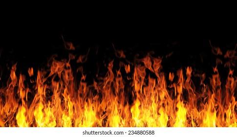 abstrakter Brandhintergrund