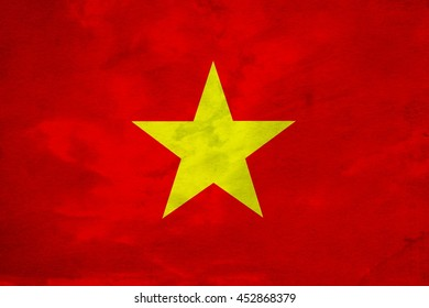 Abstract flag vietnam , illustrator , colors background