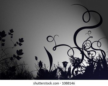 an abstract flower background