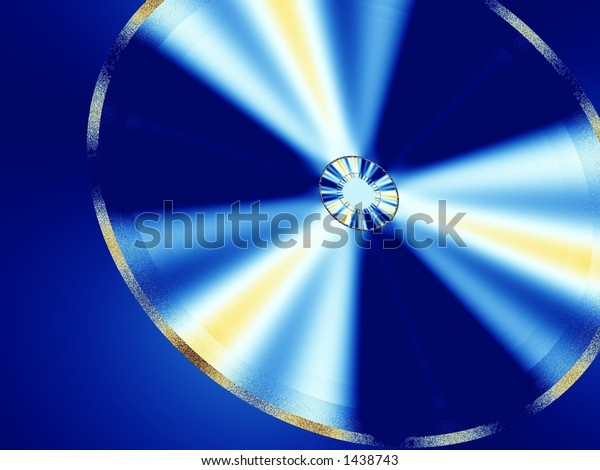 Abstract of a fractal image as a background 2