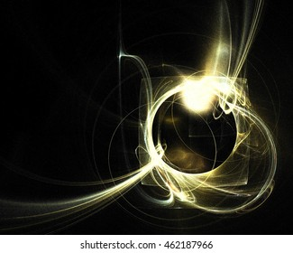 abstract fractal pattern - unreal cosmic view