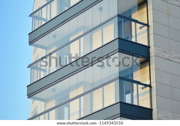 Abstract Fragment Contemporary Architecture Residential Modern ...
