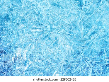 abstract frozen background of ice