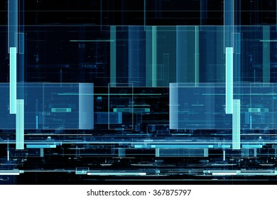 Abstract futuristic matrix like pattern background