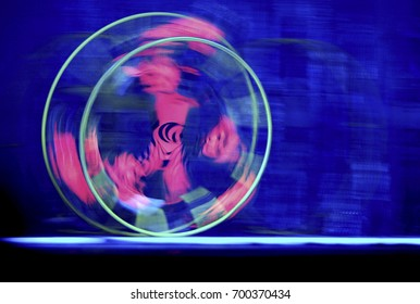 Abstract futuristic painting color texture with lighting effect. Modern dynamic shiny pattern