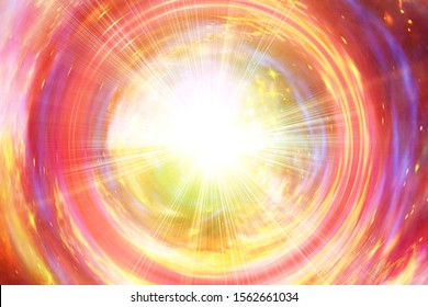Abstract galaxy whirlpool with light. The elements of this image furnished by NASA.