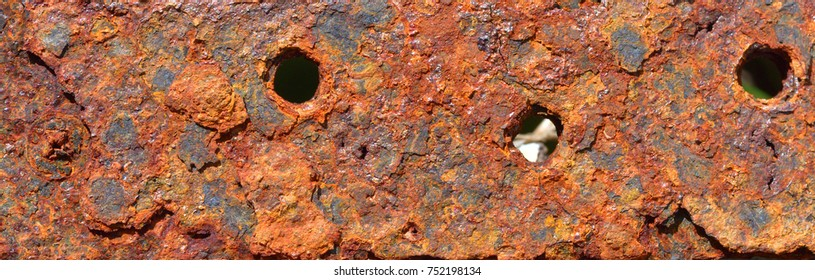 Abstract generated textured rust metal surface background.