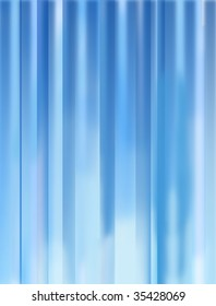 An abstract, generic, light filled blue background