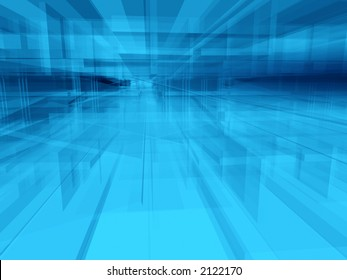 Abstract geometric architectural structure background
