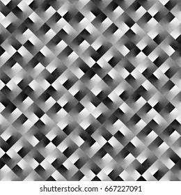 Abstract geometric black and white background gradient noise seamless patternwallpaper texture