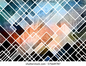 abstract geometric grunge background