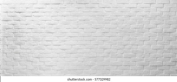 Abstract geometric white texture brick on the wall, white brick pattern on mapping object 3D, Simple clean white background texture. interior detail wall panel. Panorama texture ultra high resolution.
