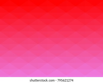 Abstract geometrical red to violet color high resolution triangle polygon origami gradient background