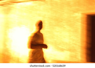Abstract Ghost Photography