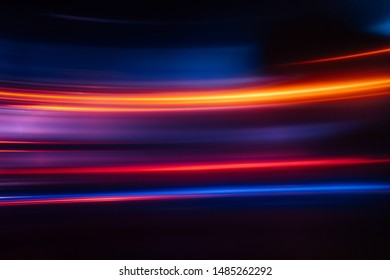 abstract glowing city light background