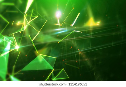 Abstract gold background. Explosion star. Motion background. illustration digital.