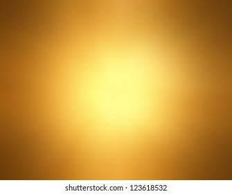 Abstract Gold Background Luxury Christmas Holiday Wedding Brown Frame Bright Spotlight Smooth Vintage
