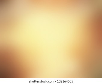 Abstract Gold Background Luxury Christmas Holiday Or Pale Wedding Brown Frame Smooth Vintage Texture