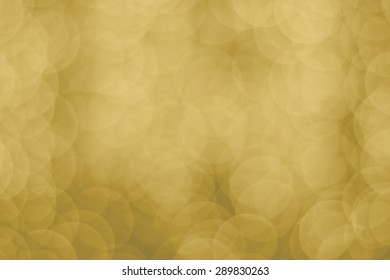 Abstract gold vintage bokeh backround of happy new year or christmas light