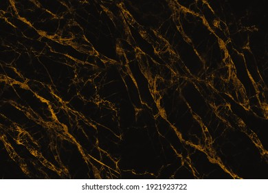 Abstract golden and black marble stone texture for background or luxurious tiles floor and wallpaper decorative design.