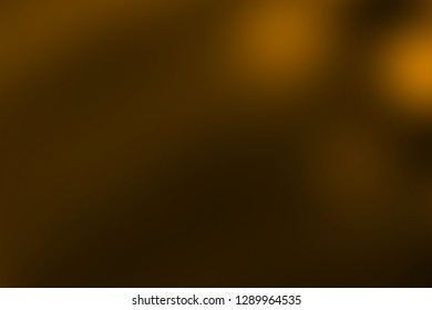 abstract golden light pulses and glows lights leaks effect motion background, warm hue