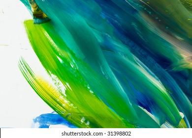 Abstract gouache painting art wallpaper