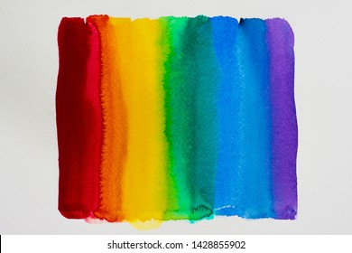 Abstract gradient wallpaper rainbow colorful background. Equality between homosexuals and heterosexuals concept.   LGBT community. (lesbian  , gay  , bisexual ,transgender ,transsexual)