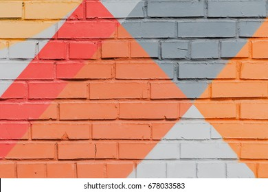 Abstract graffiti on the wall, very small detail. Street art close-up, stylish pattern. Can be useful for backgrounds and backdrops. Aerosol pictures