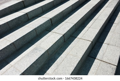 Abstract granite stairs - architectural bacground with diagonal lines