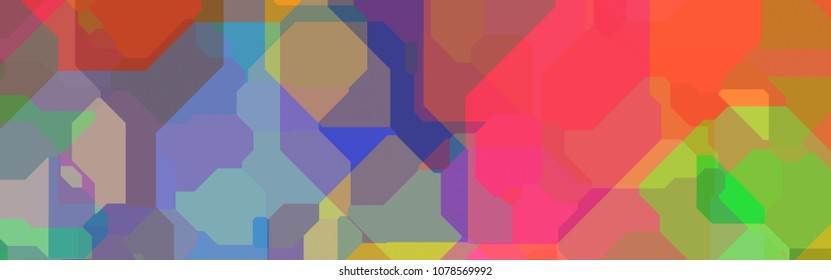 abstract graphic for backdrop, panorama size 8:2.5