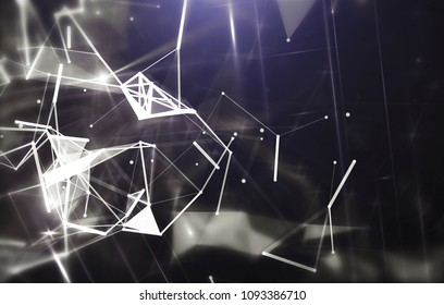 Abstract gray background. Explosion star. Motion background. illustration digital.