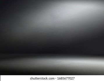 Abstract gray background for product show with Elegant light , dark and gray abstract wall and studio room gradient background