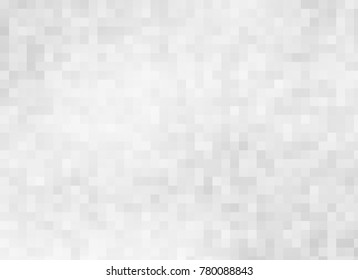 abstract gray color pixel squares mosaic background.image
