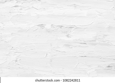 Abstract gray and white texture background of oil painting for modern decoration, wallpaper or creative  art or graphic design