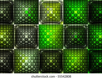 Abstract green   art -  backdrop (wallpaper) background.