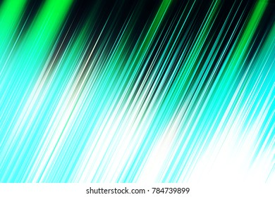 Abstract green, blue and white blurred lined image, great for design projects and background