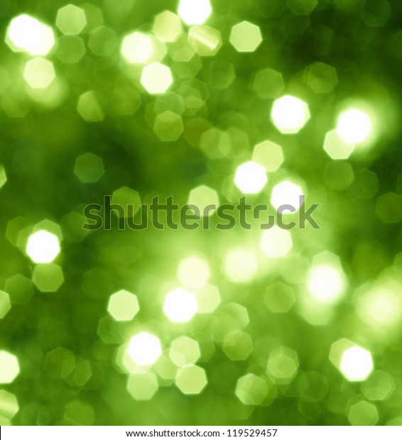 Abstract green glitter or Christmas background