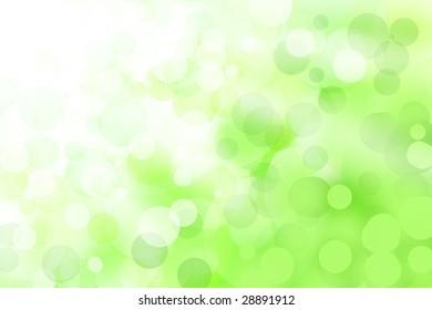 abstract green shine