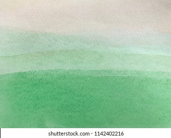 Abstract green watercolor texture background. Watercolor background