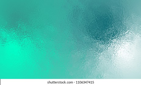 Abstract green White light neon soft glass background texture in pastel colorful gradient.